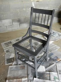 Good tutorial.  I have had a chair for 20 years that I've been meaning to makeover!
