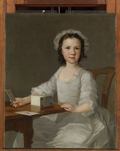 Girl Building a House of Cards, attributed to Thomas Frye, Mid 18th century, at the MET, Accession Number: 91.26.1