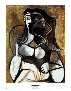Woman in an Armchair Art | Pablo Picasso