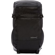 Master-Piece Co Black Nylon Large Exceed Backpack