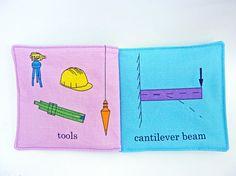 Civil Engineering Baby Book by VerdantViolet on Etsy