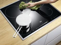 how to care for a ceramic or glass cooktop stove within how to remove scratches from ceramic glass tricks to remove scratches from glass ceramic Tricks to Remove Scratches from Glass Ceramic Flat Top Stove, Cook Top Stove, Cooking Stove, Ceramic Stove Top, Glass Ceramic, Kitchen Refacing, Kitchen Stove, Kitchen Makeovers, Cleaning
