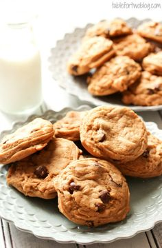 Pudding in the batter makes these butterscotch pudding cookies super moist and delicious