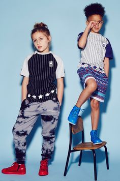 Stripe and pattern mixes at Ruff and Huddle kidswear spring 2015