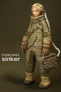 Rocketumblr | Sinker Character Concept, Character Art, Concept Art, Character Design, Toy Art, Cosplay Anime, Sci Fi Characters, Arte Pop, Vinyl Toys