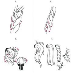 Hair and Heads tutorials by Nyda88