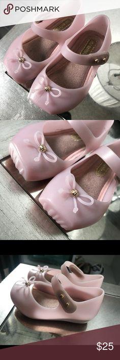 Mini Melissa Flats Used but good condition Mini Melissa Shoes Dress Shoes