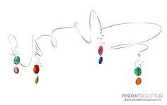 Artwork n.22 - Size: 42x32 cm - Materials: Stainless steel and gemes. –> SOLD   Opera n°22 - Dimensioni: 42x32 cm - Materiali: Acciaio inossidabile e pietre. –> VENDUTO   http://www.pendantsculpture.eu