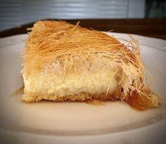 Galaktoboureko with Kataifi (Greek Custard and shredded phyllo pie) - My Greek Dish