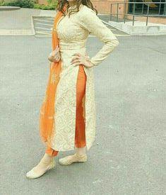 Punjabi Fashion, Indian Fashion Dresses, Dress Indian Style, Pakistani Dresses, Indian Wear, Indian Outfits, Fashion Outfits, Punjabi Suits Designer Boutique, Indian Designer Suits