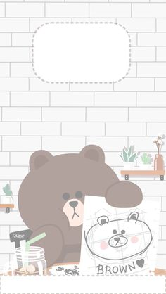 19 Ideas Wall Paper Cute Cartoon Friends For 2019 Cute Pastel Wallpaper, Soft Wallpaper, Bear Wallpaper, Kawaii Wallpaper, Cute Ipad Wallpaper, Cocoppa Wallpaper, Cartoon Wallpaper Iphone, Aesthetic Iphone Wallpaper, Aesthetic Wallpapers
