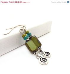 Clean Blue Green by Linda on Etsy