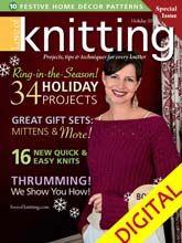 Love of Knitting Holiday 2012 Digital Issue from CrochetandKnitShop.com