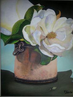 Magnolias en caldero