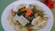 Ensalada de judias verdes con semillas de amapola