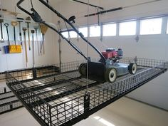 Material Handling: Unique Lift Garage Storage System - Contractor Supply Magazine