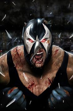 This is what BANE should have looked like in that crap movie, Dark Knight Rises!!!<- I agree x100000000