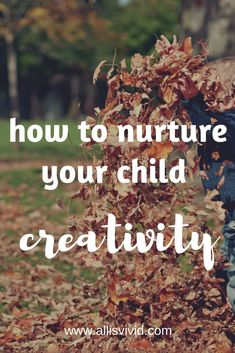 Some people say that creativity is like a gift, an inborn talent. However, creativity can be developed and in order to blossom, it requires special and very simple conditions => Parenting Styles, Parenting Hacks, One Year Old Baby, Effective Learning, Parental Guidance, Self Care Activities, Natural Parenting, Some People Say, Attachment Parenting