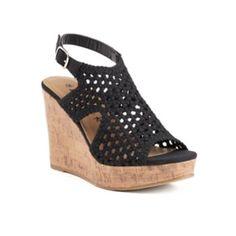 Mudd+Women's+Wedge+Sandals