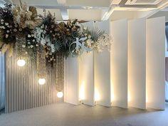 "Wedding Flowers & Decoration on Instagram: ""ขอบคุณผู้ร่วมทีมงานทุกท่าน #ไอเลิฟ ♥️ ModernBackdrop Wedding 2019 #tropicalwedding Detail : 12-05-2019 Decor : #hugweddingplanner Flowers…"" Wedding Flower Decorations, Wedding Flowers, Chandelier, Ceiling Lights, Lighting, Plants, Home Decor, Candelabra, Decoration Home"