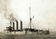 HMS Berwick Armored Cruiser