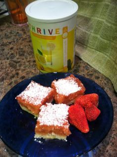 Strawberry Lemonade Bars - THRIVE Classic Lemonade - Not just for Lemonade! - Check out ways to use this fabulous seasonal product all year long!  Stock up now before it's too late!