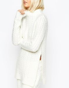 ASOS | ASOS co-ord Sweater In Cable Knit at ASOS