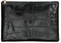 H&M 100% Leather Clutch