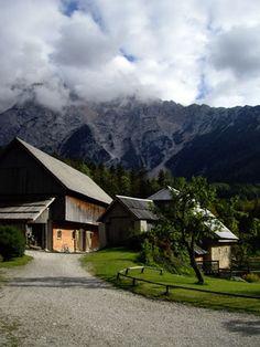 Barn near Jezersko, Slovenia