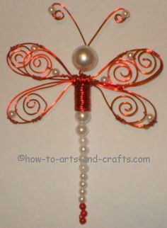 1000 ideas about dragonfly crafts on beaded