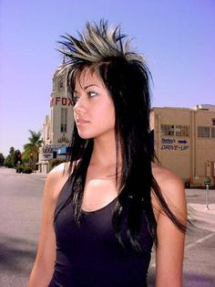 girls with mohawks - Google Search