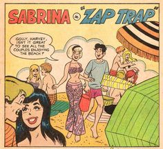 Sabrina in Zap Trap