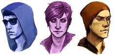 "Eugene Sims, Abigail ""Fetch"" Walker and Delsin Rowe A gamer, a junkie and a small town delinquent Eugene Sims, Fun Games, Awesome Games, Delsin Rowe, Infamous Second Son, Video X, Rpg Maker, Small Towns, Sons"