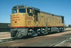 Union Pacific GE U50.