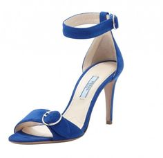Sandali Prada - primavera-estate 2014 blu #blue #shoes