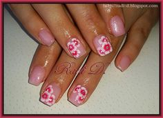 It`s all about nails: One Stroke Flowers http://radi-d.blogspot.com/2014/07/one-stroke-flowers.html