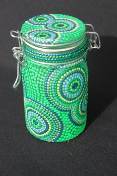 Mosaic mason jars