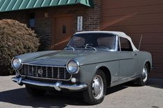1967 Fiat 1500 Spider Maintenance/restoration of old/vintage vehicles: the material for new cogs/casters/gears/pads could be cast polyamide which I (Cast polyamide) can produce. My contact: tatjana.alic@windowslive.com