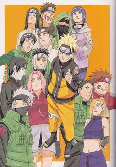love love love this drawing... Masashi Kishimoto, I just can't thank you enough for making Naruto; the magic of my life... Arigato Sensei...