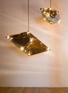 Une lampe inspirée des constellations