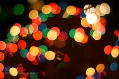 Bokeh tree - Pinned by Mak Khalaf Abstract  by TijsW
