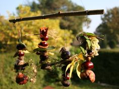 """Make a mobile with conkers - from Ready for Ten ("""",)"""