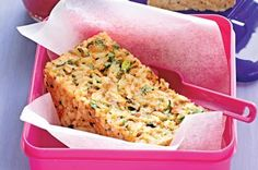 Salmon and rice loaf Verdict: quick, easy, tasty. If you like tuna casserole, you'll like this.