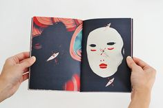 Swim  Full Color Illustrated Art Zine by jeanniephan on Etsy, $12.00