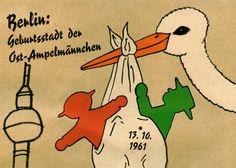 Berliner Ampelmännchen. Schön, dass es sie noch gibt... #Berlin #Ampelmann