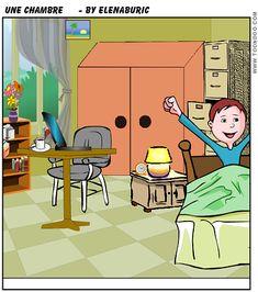 TOUCH esta imagen: Dans la chambre de Georges by Elena
