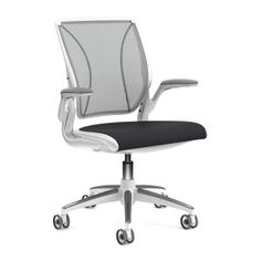 Humanscale World Chair with White Frame