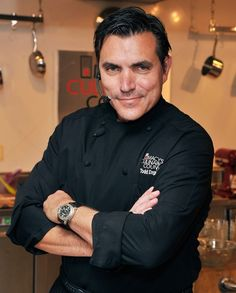 Chef Todd English, I have two of his cookbooks. The pizza one is great and dessert one yummy.