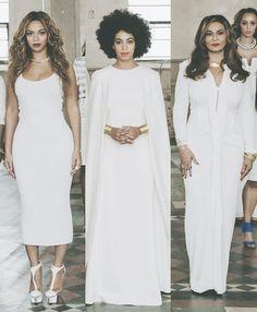 Beyonce, Solange and Mama Tina