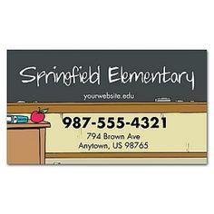 2x3.5 Custom Elementary School and Academic Magnets